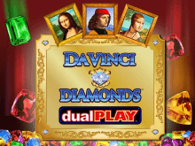 Автомат Da Vinci Diamonds: Dual Play на деньги